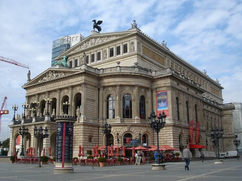Prédio da ópera de Frankfurt