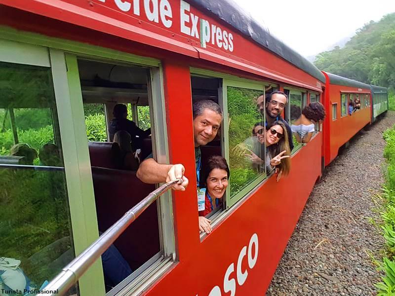 trem de Morretes quanto custa