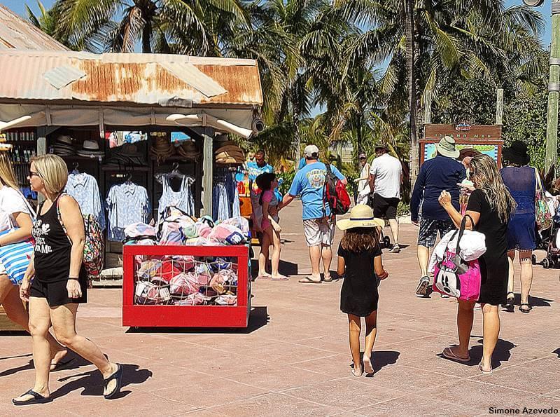 excursão para o Cruzeiro da Disney