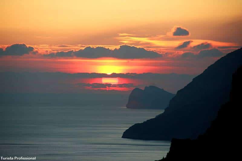 onde ver o por do sol na Costa Amalfitana