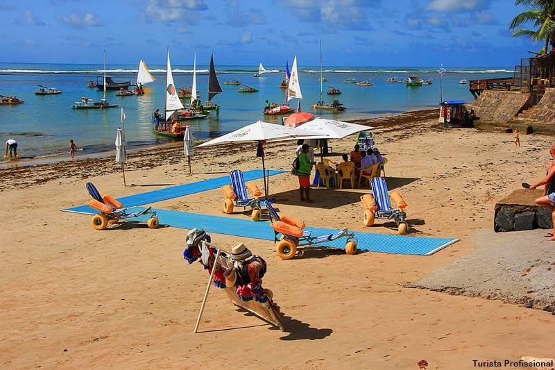 praias acessiveis no brasil - Conheça 5 praias acessíveis para pessoas com deficiência