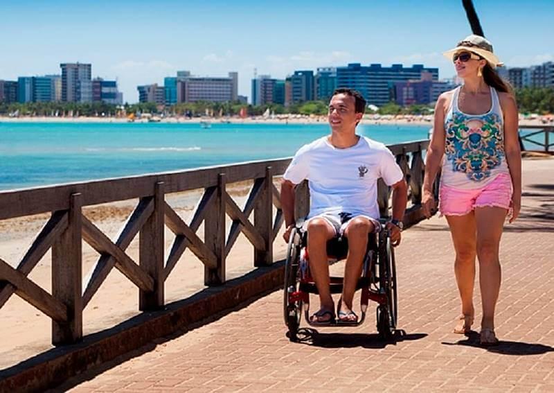 prefeitura maceio acessibilidade - Conheça 5 praias acessíveis para pessoas com deficiência