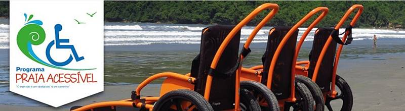 programa praia acessivel ubatuba - Conheça 5 praias acessíveis para pessoas com deficiência