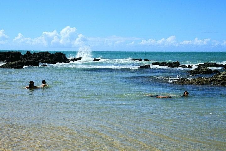 A Praia de Coqueirinho