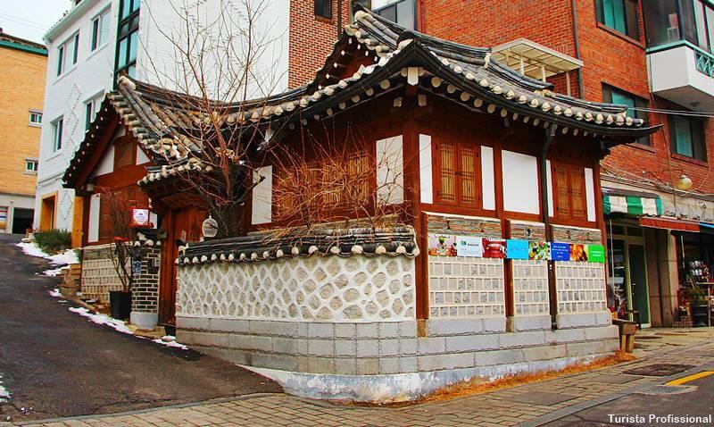 Bairro antigo de Seul