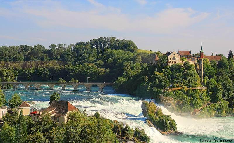 Cataratas do reno suica - Cataratas do Reno e o que fazer em Schaffhausen, na Suíça