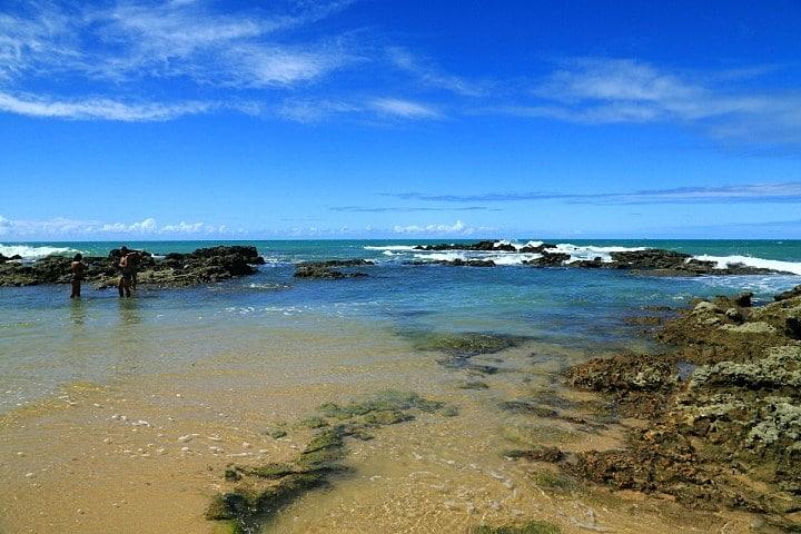 Praia de Coqueirinho na Paraíba
