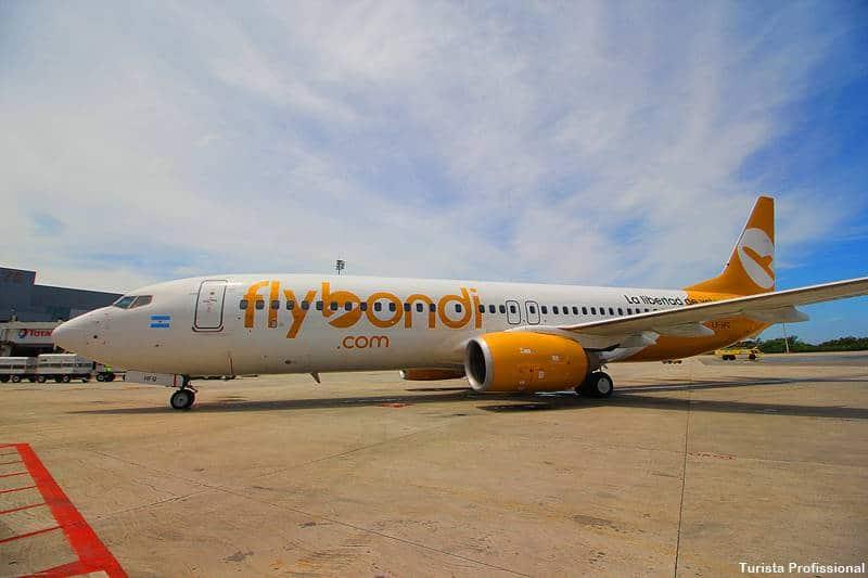 aviao da flybondi argentina - Flybondi: voo do Brasil para Argentina mais barato!