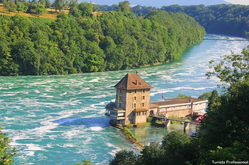 cataratas do reno na suica - Cataratas do Reno e o que fazer em Schaffhausen, na Suíça