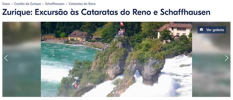 excursao as cataratas do reno e schaffhausen - Cataratas do Reno e o que fazer em Schaffhausen, na Suíça