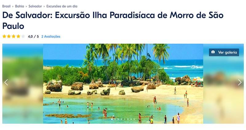 excursao morro de sao paulo 1 - Como chegar a Morro de São Paulo