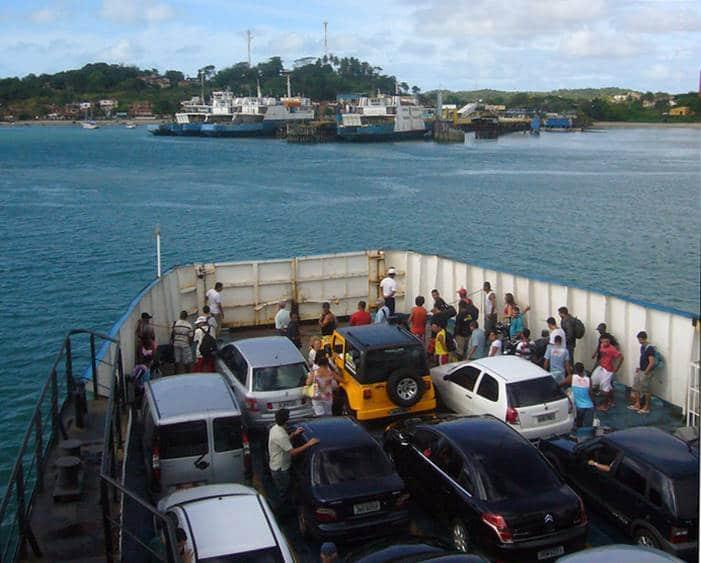 ferry salvador itaparica - Como chegar a Morro de São Paulo