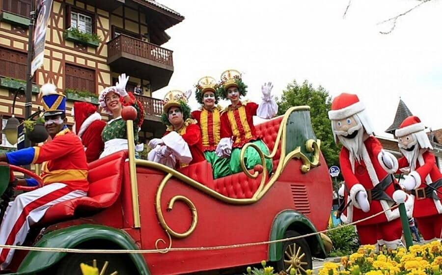 Desfile de Natal em Gramado