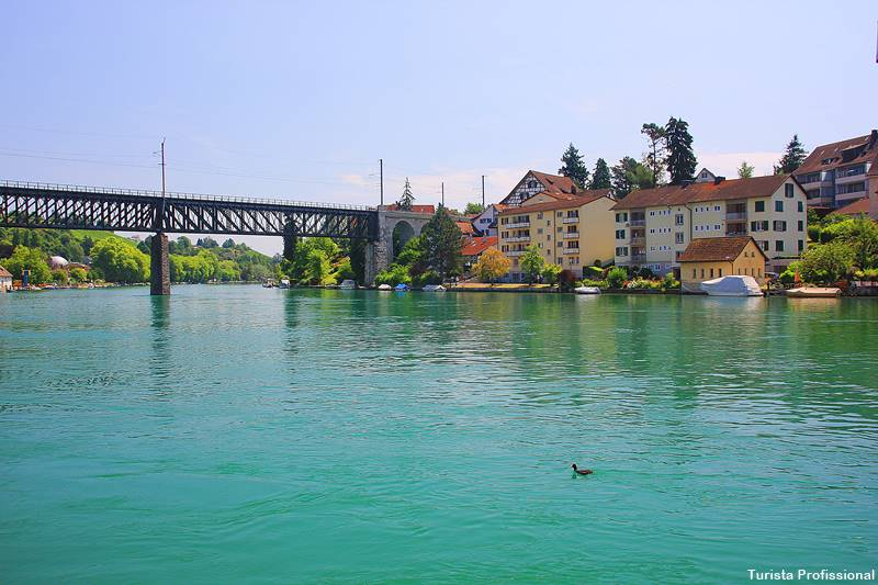 o que fazer na Suica - Cataratas do Reno e o que fazer em Schaffhausen, na Suíça