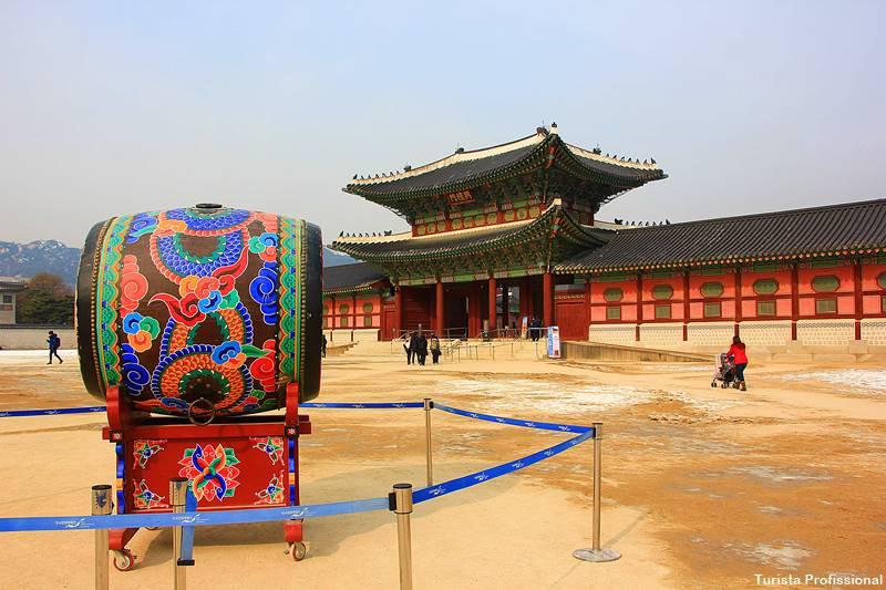 palácios de Seul