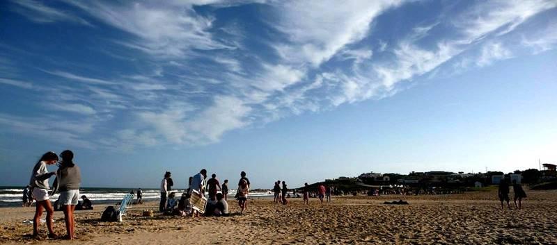 praia de La Pedrera Uruguai