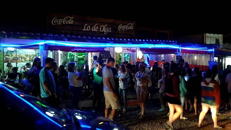 noite de Punta del Diablo