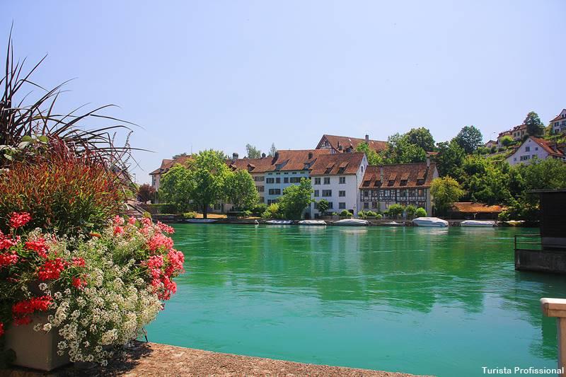 rio reno Suica - As Cataratas do Reno e o que fazer em Schaffhausen, na Suíça