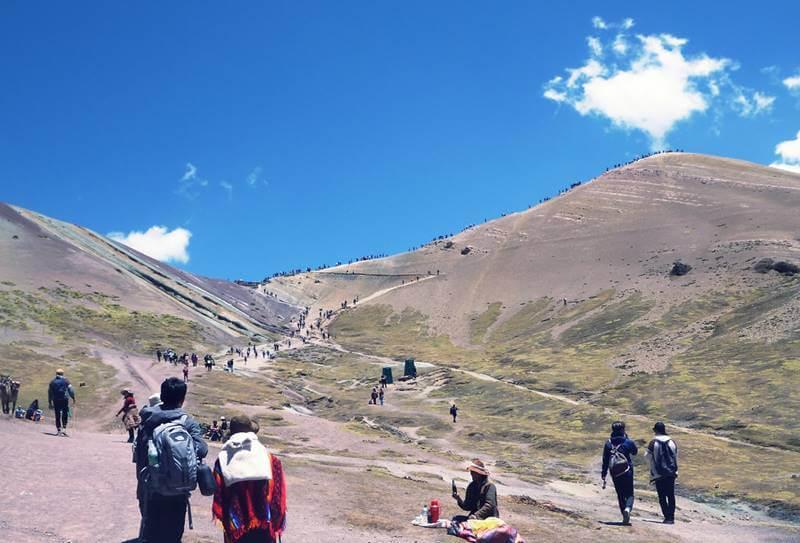 caminhada ate rainbow mountain - Rainbow Mountain, a Montanha Colorida no Peru