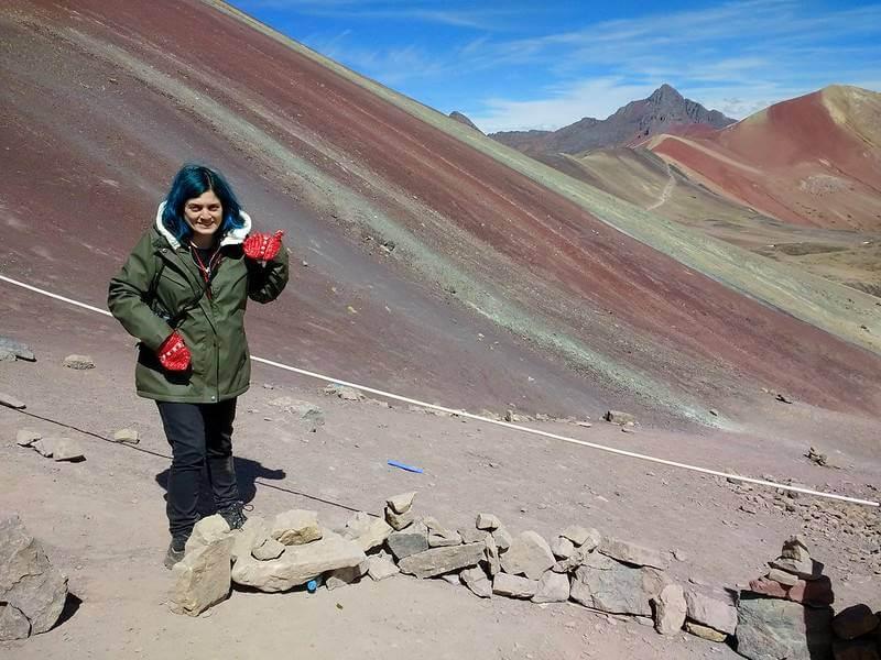como e a montanha rainbow mountain - Rainbow Mountain, a Montanha Colorida no Peru