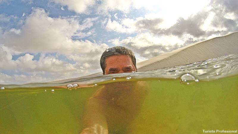 mergulho nos lencois maranhenses - Rota das Emoções: roteiro completo de uma viagem dos sonhos