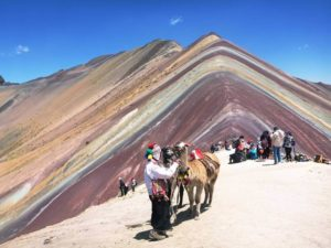 Rainbow Mountain Montanha Colorida do Peru