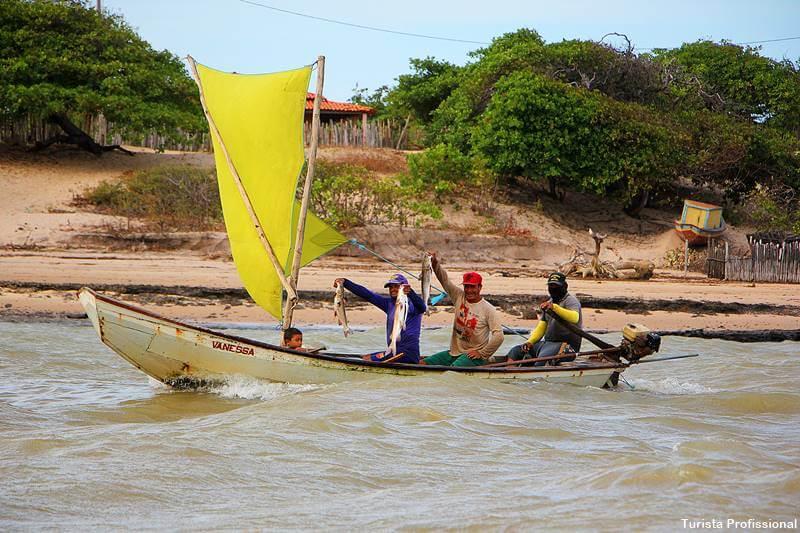 pescadores rio parnaiba piaui - Delta do Parnaíba: passeio de barco e revoada dos guarás