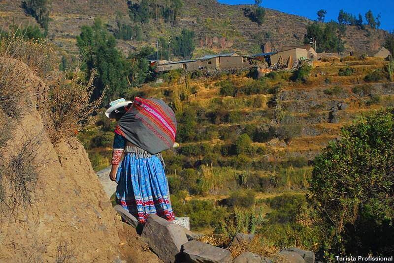 roupas típicas do Peru