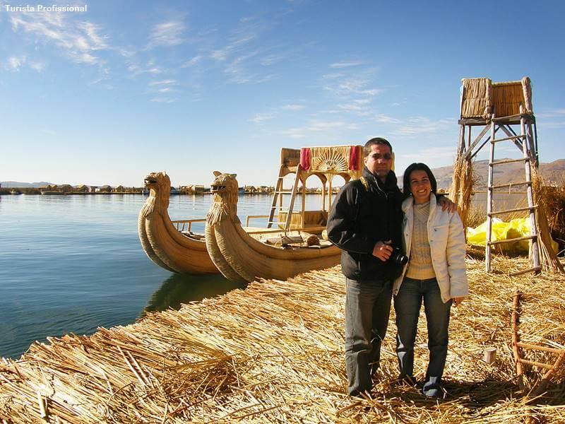 ilhas de tutora em Puno Peru
