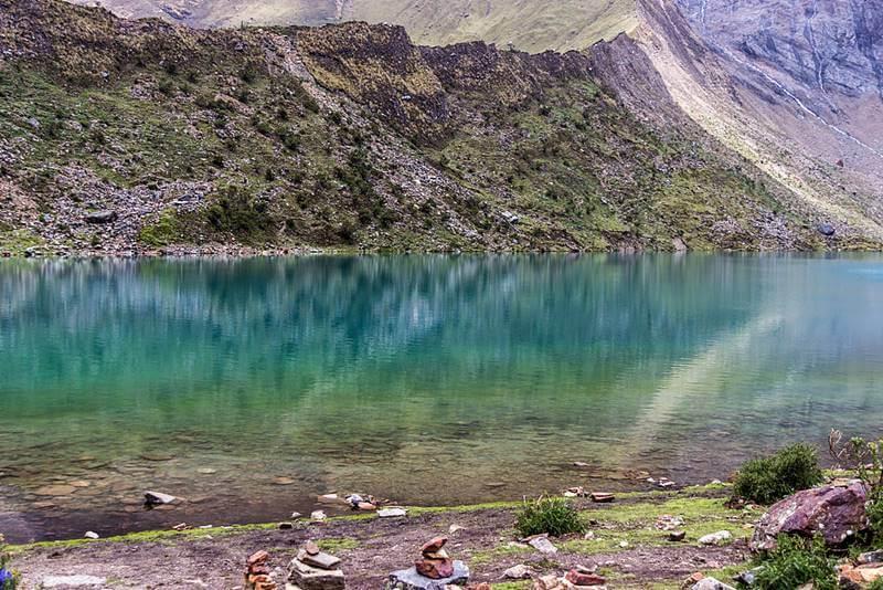 Laguna Humantay no Peru - Laguna Humantay, no Peru: a Lagoa Azul