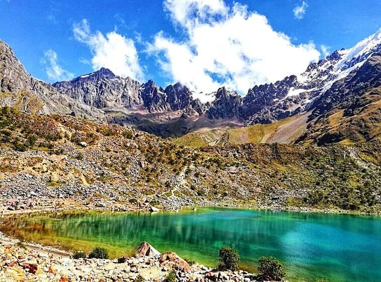 Laguna Humantay no Peru