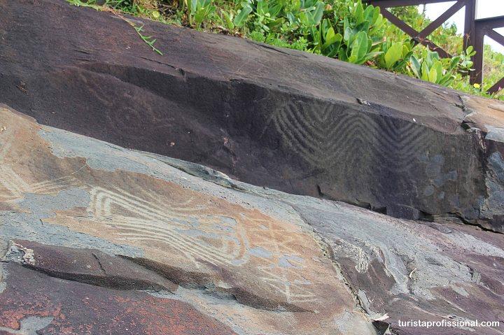 Pinturas rupestres em Florianopolis - As melhores praias de Florianópolis