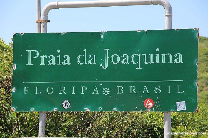 Praia da Joaquina - As melhores praias de Florianópolis