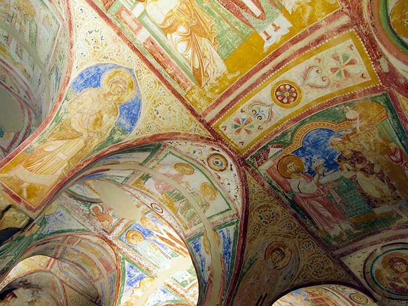 Afresco da cripta Basílica de Friuli Venezia Giulia - Friuli Venezia Giulia, descubra essa região da Itália