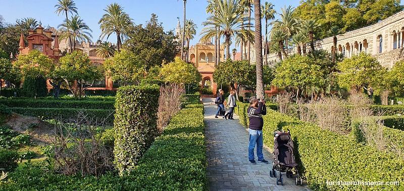 Jardins do Alcazar Sevilha - O que fazer em Sevilha: principais pontos turísticos