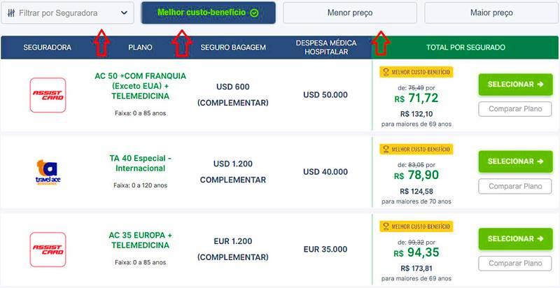 seguro viagem cotacao - Seguro viagem: cotação online