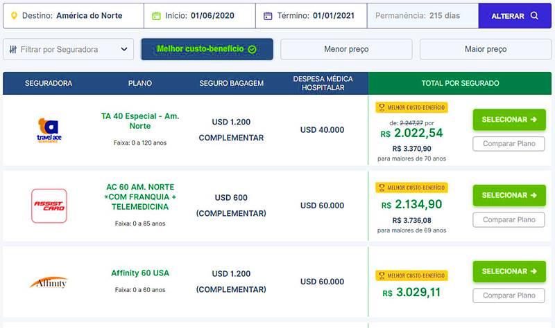 seguro viagem para intercambio - Seguro viagem: cotação online