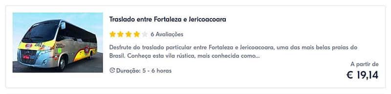 transfer ate jericoacoara - Viagem para Jericoacoara: tudo o que você precisa saber!