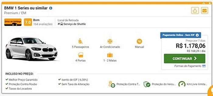 aluguel de carros de luxo em Portugal - Aluguel de carro em Portugal