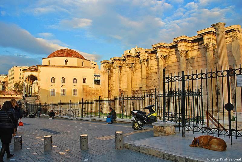 biblioteca de adriano atenas - O que fazer em Atenas, principais pontos turísticos