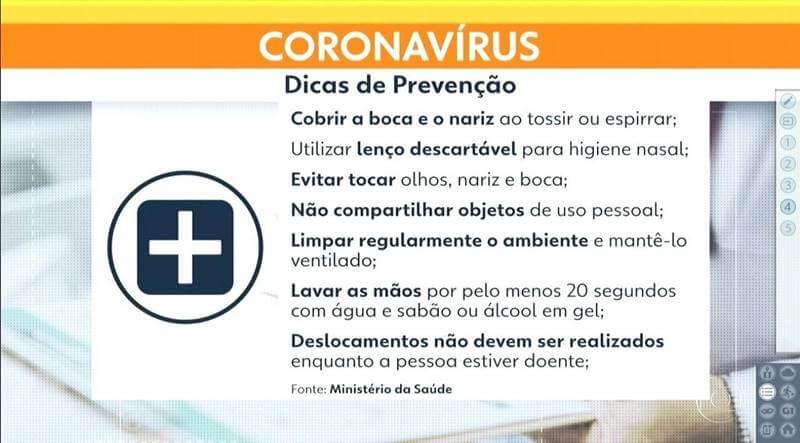 coronavirus prevencao - Coronavírus e viagens: informações e dicas de prevenção