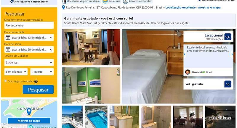 hotel booking 1 - Booking é confiável? Dicas para usar a plataforma