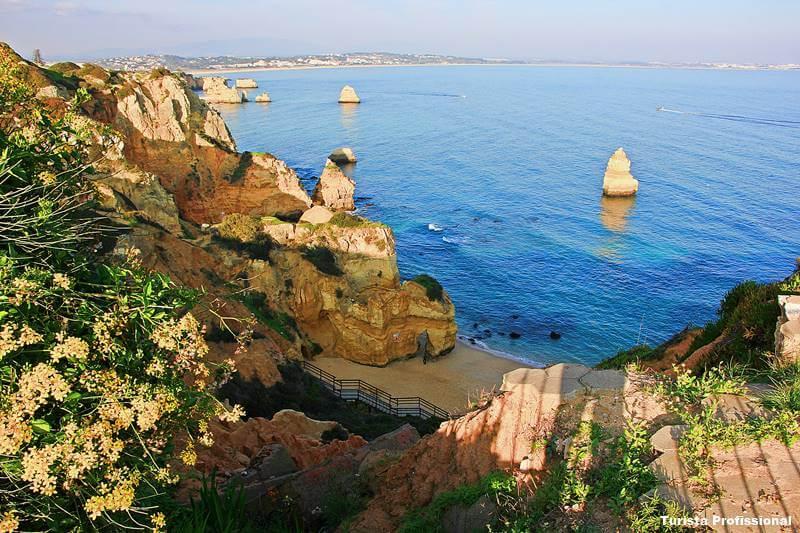 praia algarve lagos portugal - Lagos, Portugal: dicas de viagem!