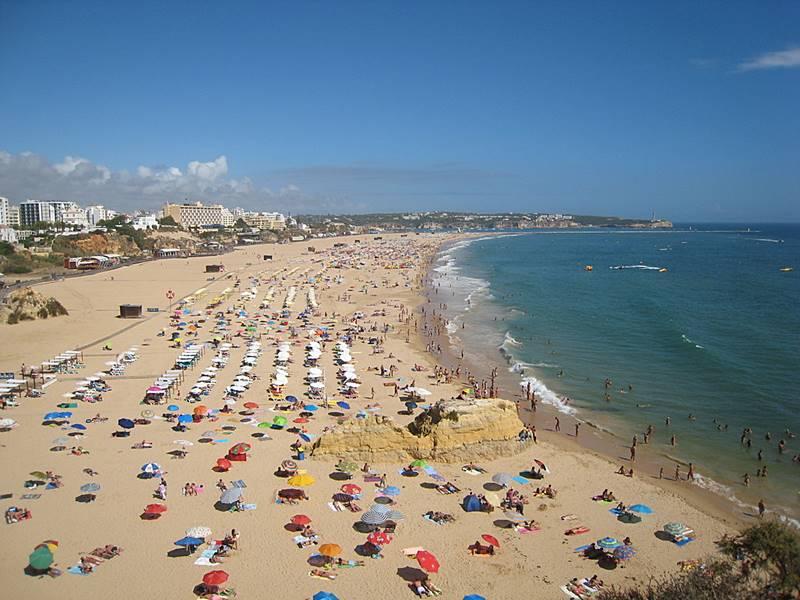 praia em portimao portugal - Lagos, Portugal: dicas de viagem!