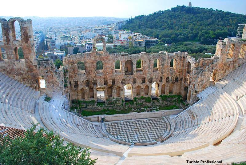teatro de herodes atenas 1 - Cidade de Atenas: dicas de viagem