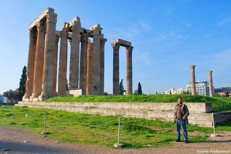 templo de zeus atenas grecia - O que fazer em Atenas, principais pontos turísticos