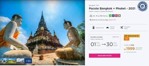 Tailândia - Roteiro de 2 dias em Bangkok