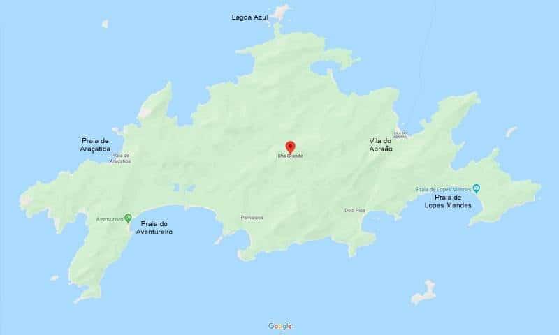 mapa da ilha grande angra - Ilha Grande em Angra dos Reis: guia completo