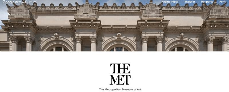 met new york - Museus virtuais internacionais que você pode conhecer de dentro de casa