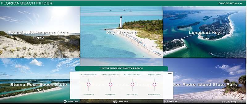 """visit florida praias - Viagem online: como viajar """"dentro de casa""""?"""